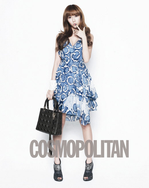 SNSD Jessica Lady Dior and Cosmopolitan