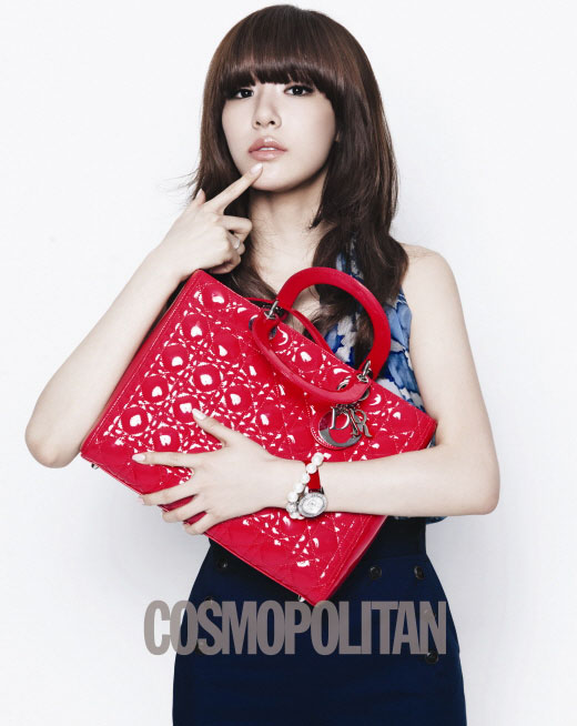 SNSD Tiffany Lady Dior and Cosmopolitan
