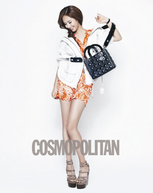 SNSD Yuri Lady Dior and Cosmopolitan