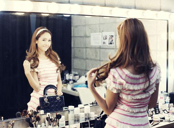SNSD Jessica Lady Dior tote bag