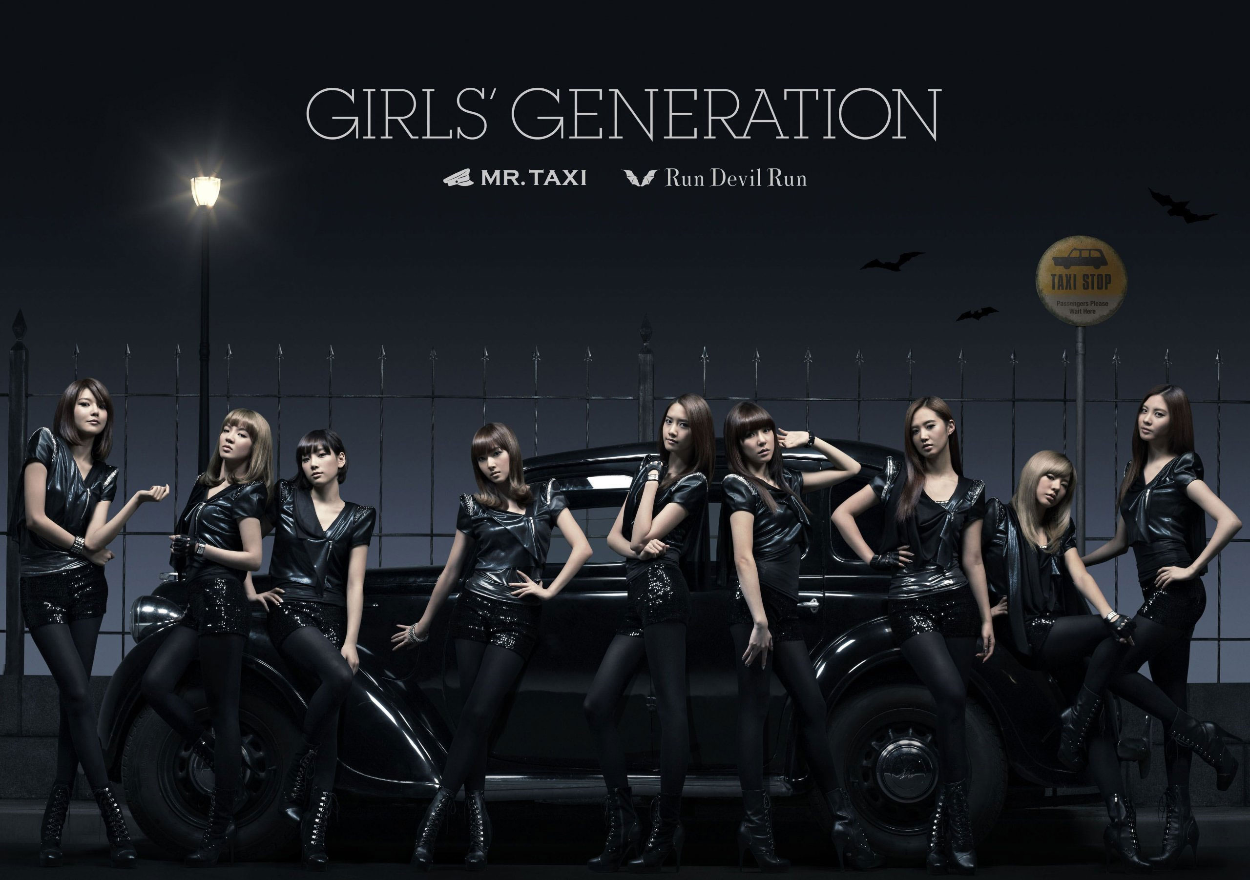 SNSD Mr Taxi and Run Devil Run Japan