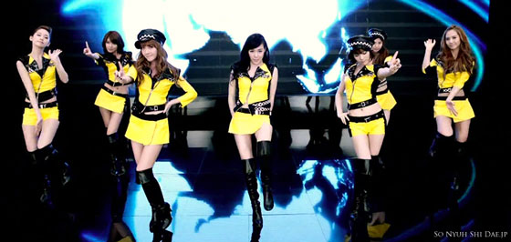 SNSD Japanese Mr Taxi MV screenshot