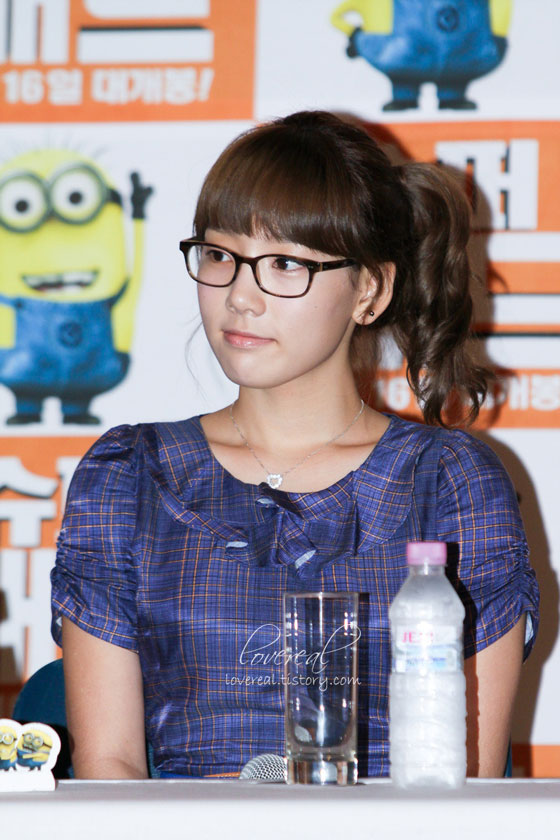 SNSD Taeyeon at Despicable Me press conference