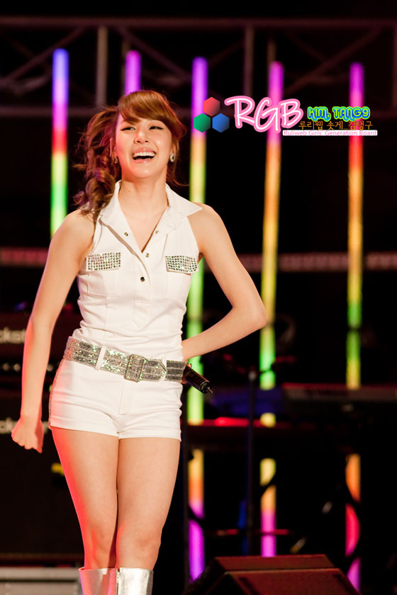 SNSD Tiffany Hanyang University Concert