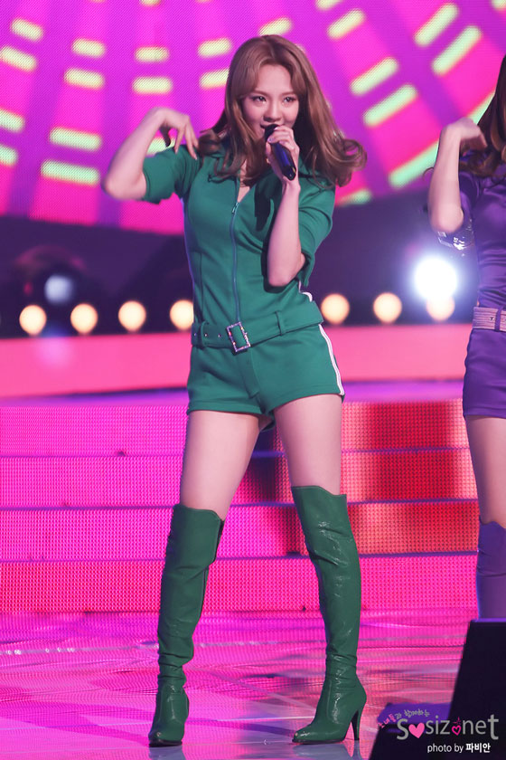 SNSD Hyoyeon KBS Input Concert
