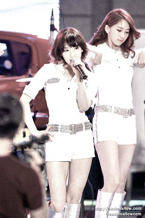 SNSD Taeyeon at Hanyang concert