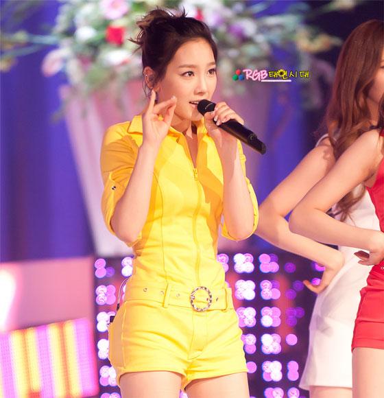 Taeyeon focus @ Input concert
