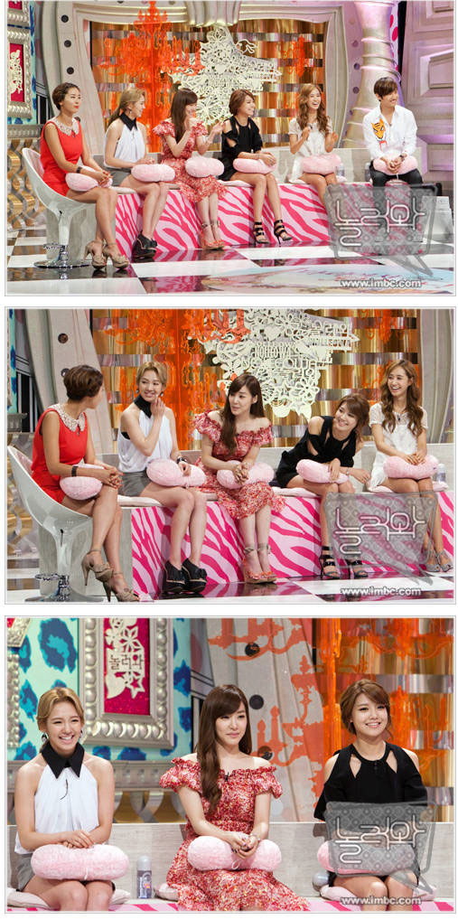 SNSD on MBC Some To Play