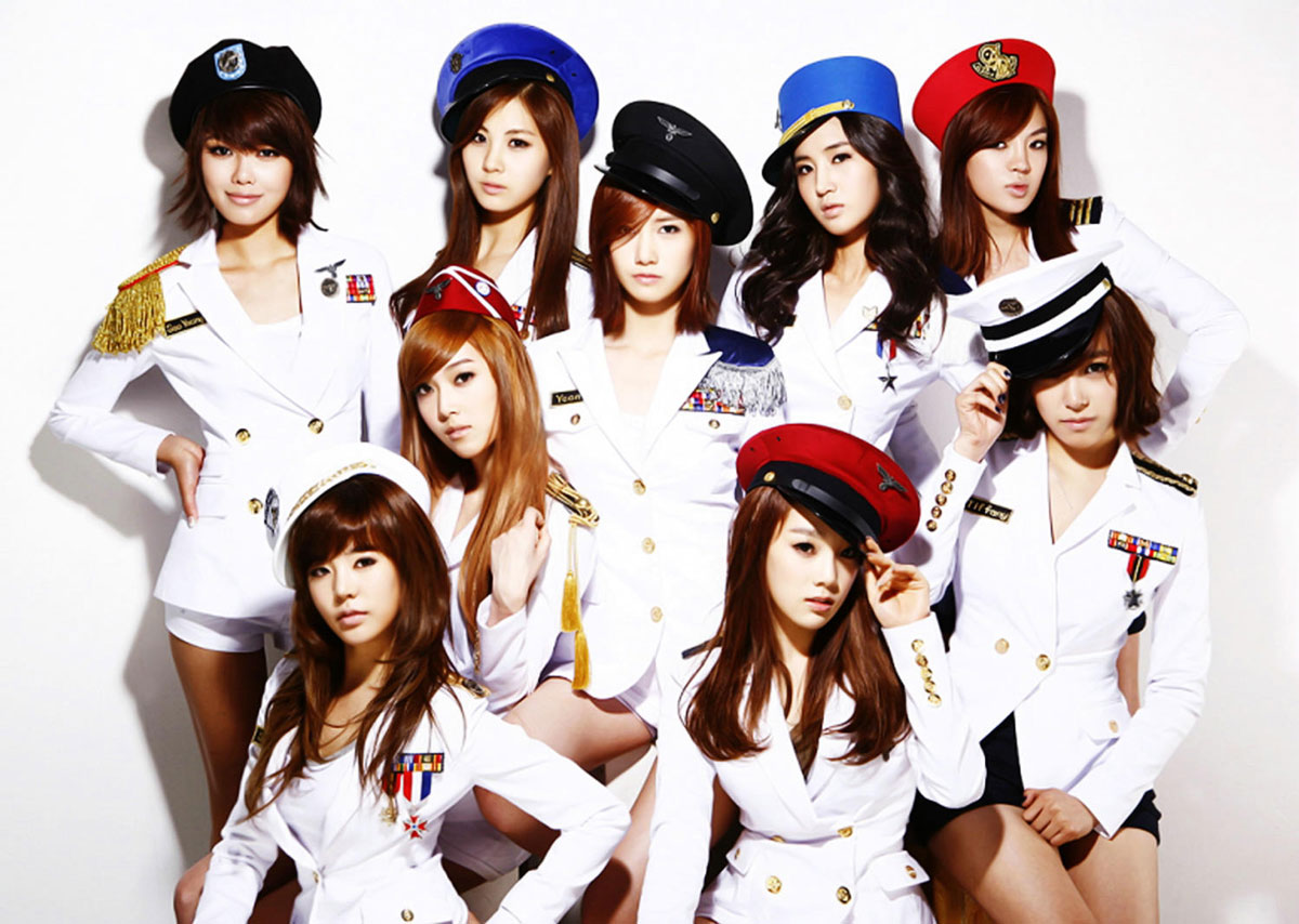 SNSD Korean Genie marine girls concept