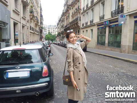 Sooyoung in Paris