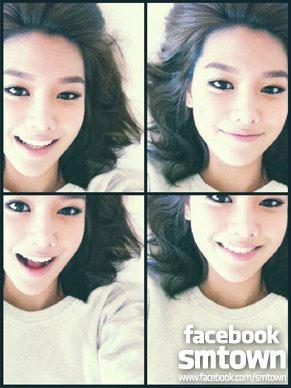 SNSD Sooyoung Paris selca