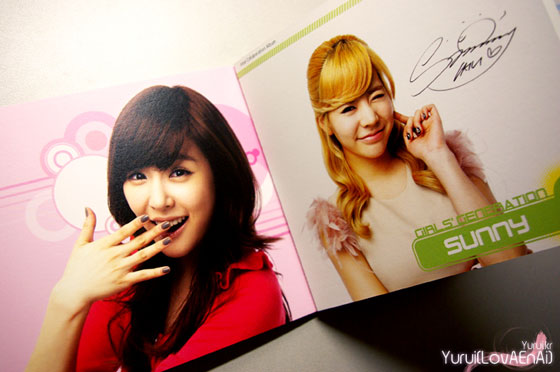 SNSD Tiffany and Sunny Visual Dreams Intel