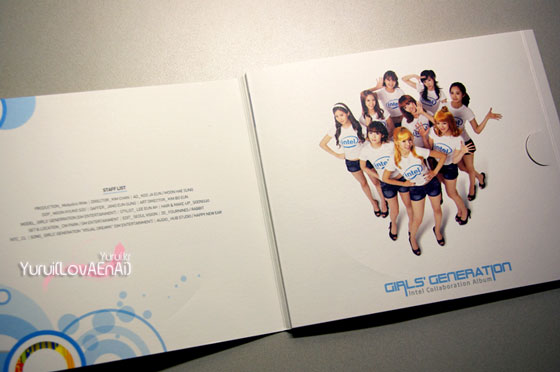Visual Dreams Girls Generation Intel Collaboration Album