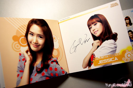 SNSD Yoona and Jessica Visual Dreams Intel