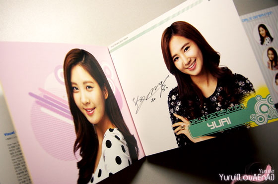 SNSD Seohyun and Yuri Visual Dreams Intel