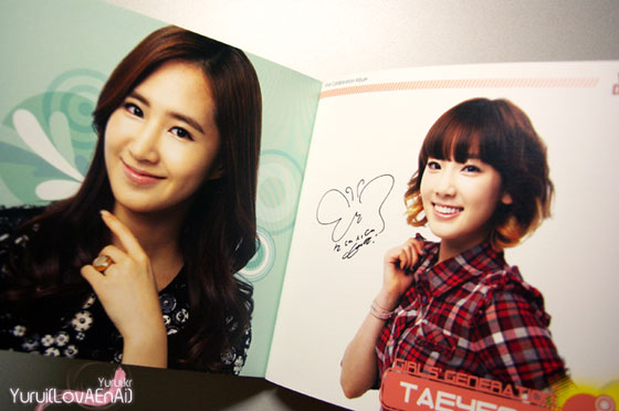 SNSD Yuri and Taeyeon Visual Dreams Intel