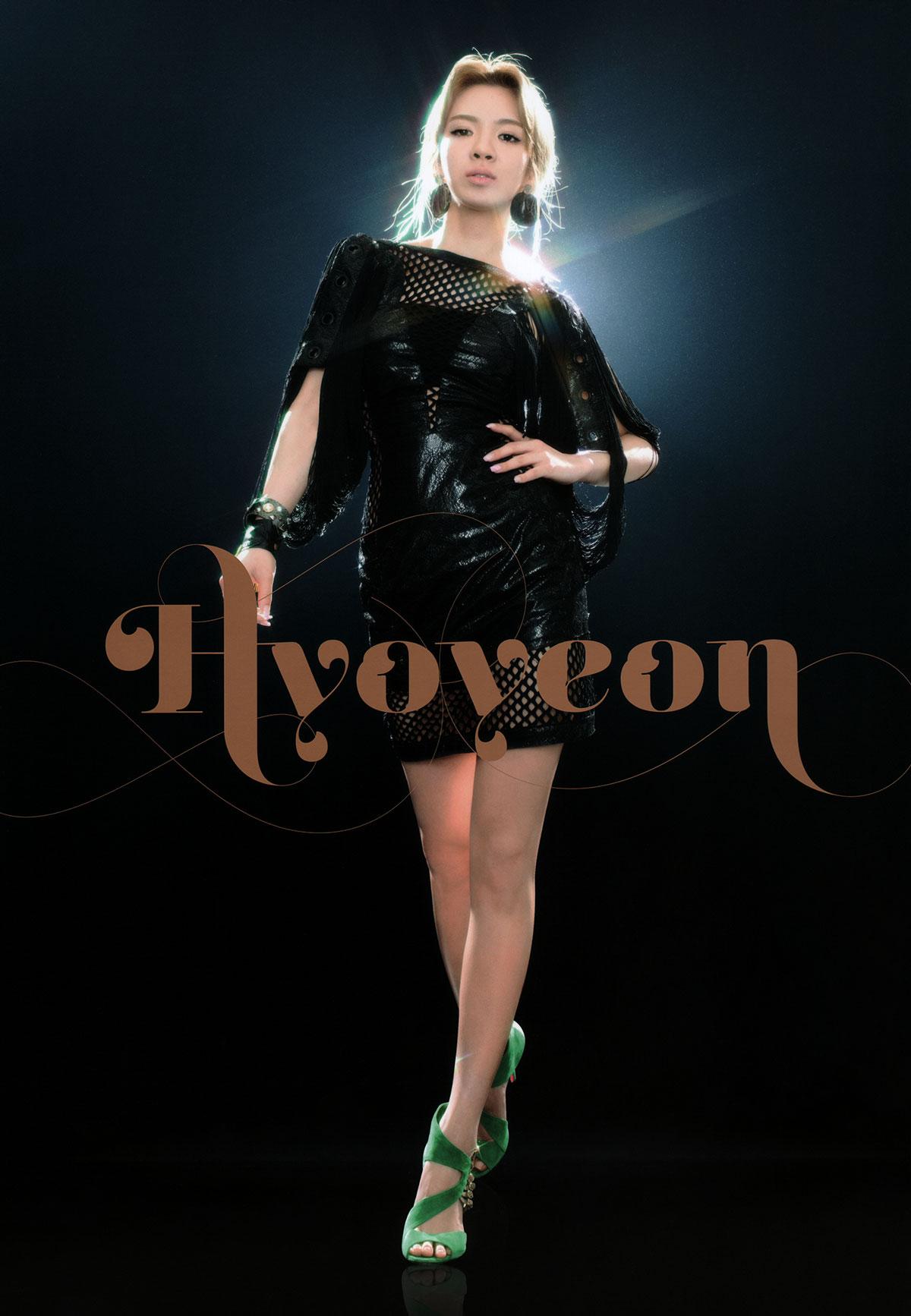 Hyoyeon Girls Generation 2011 Tour brochure