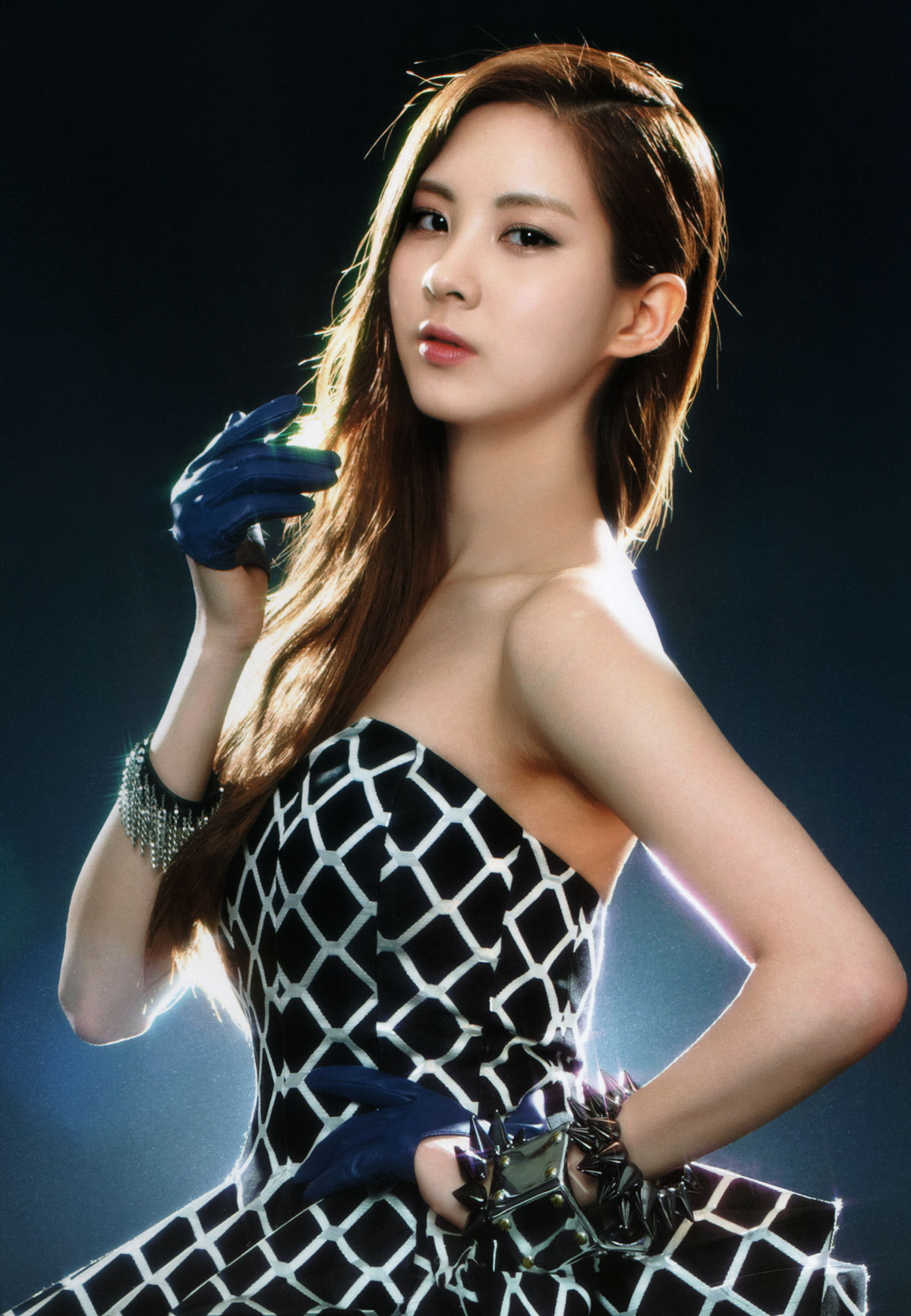 Seohyun Girls Generation 2011 Tour brochure