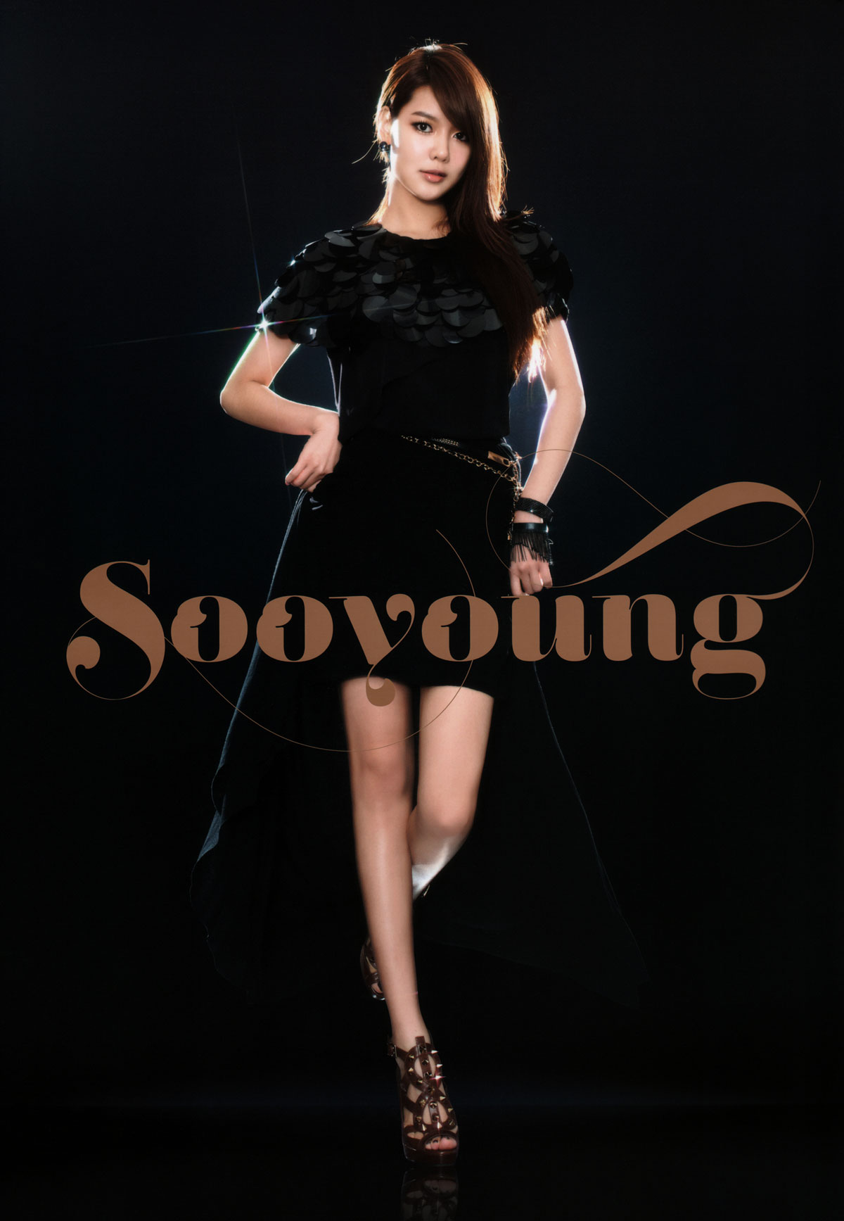 Sooyoung Girls Generation 2011 Tour brochure
