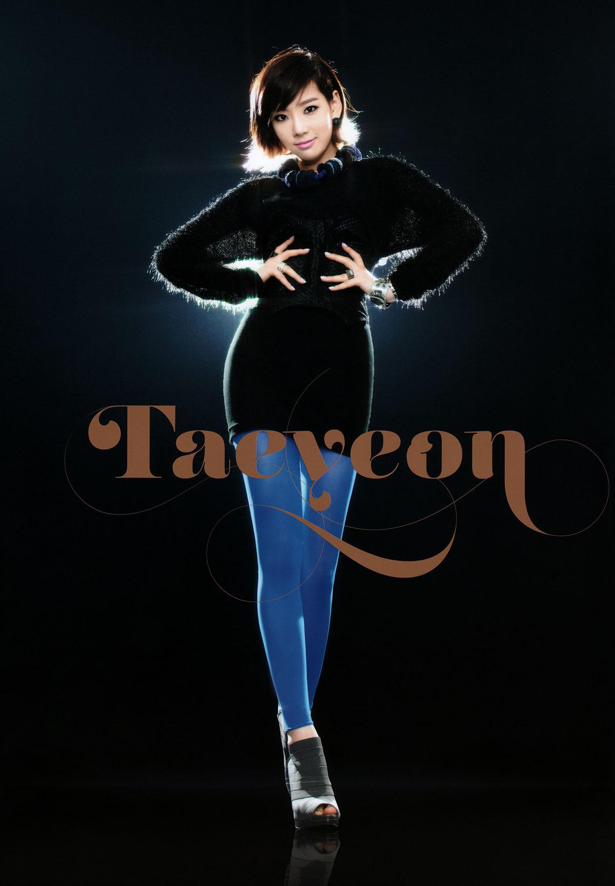 Taeyeon Girls Generation 2011 Tour brochure