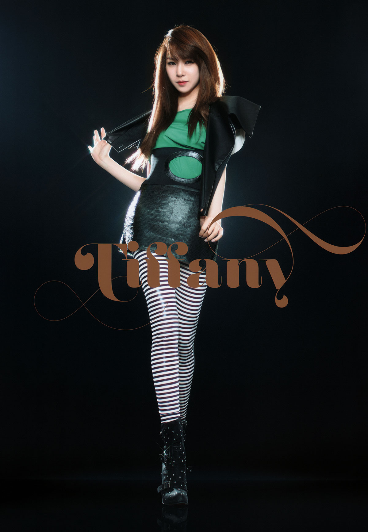 Tiffany Girls Generation 2011 Tour brochure