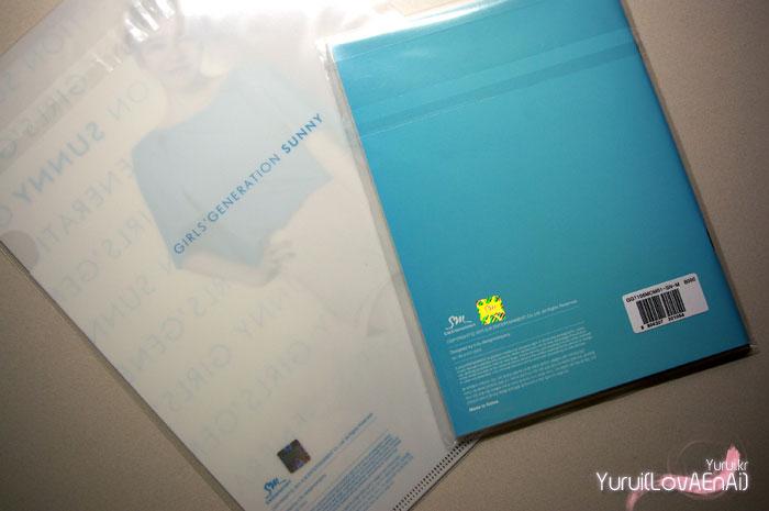 Girls Generation Sunny notebook