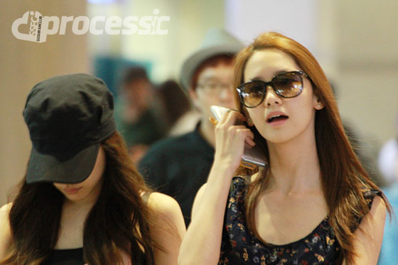 SNSD Yoona Incheon Airport from Guam