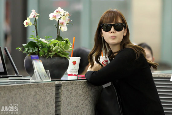 SNSD Jessica Incheon Airport from Guam