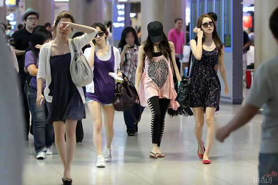 SNSD Incheon Airport from Guam
