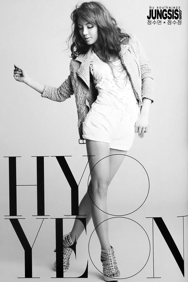 SNSD Hyoyeon Japan Tour pamphlet