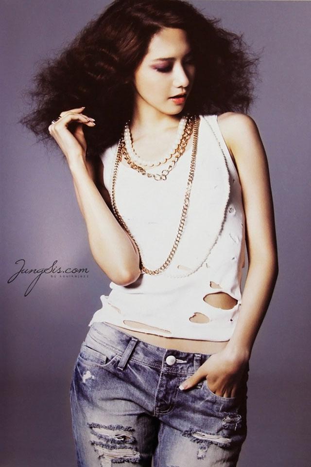 SNSD Yoona Japan Tour pamphlet