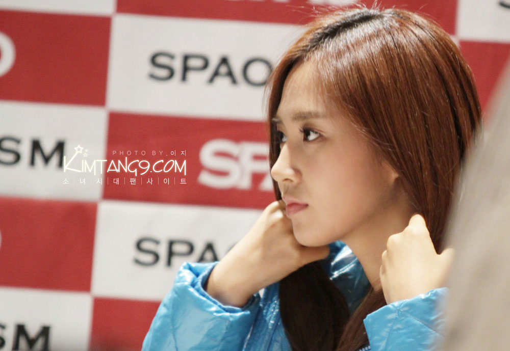 SNSD Yuri SPAO fansign event