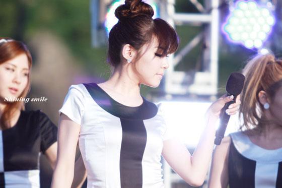 Tiffany focus @ KBS Jeju 7 Wonders Concert