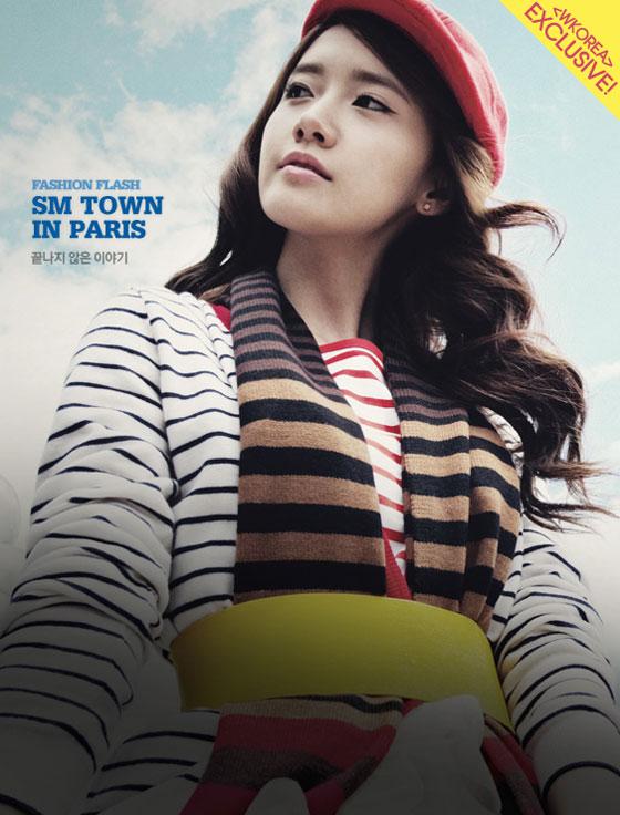 SNSD Yoona W Magazine Paris