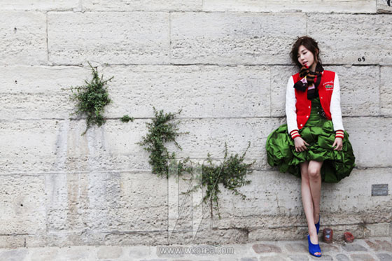SNSD Tiffany W Magazine Paris