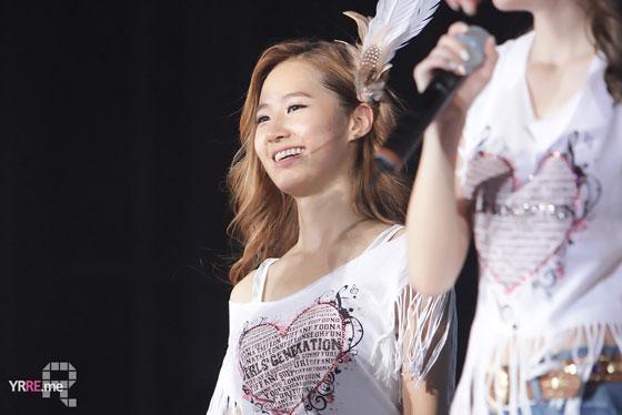 Yuri focus @ Seoul Tour 2011