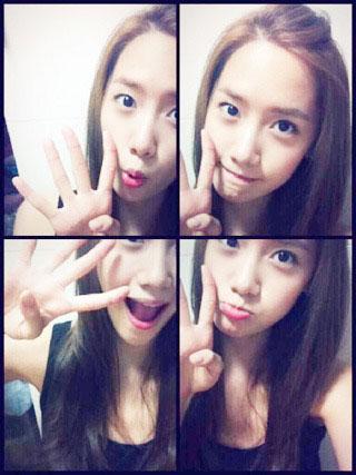 SNSD Yoona 4th anniversary selca
