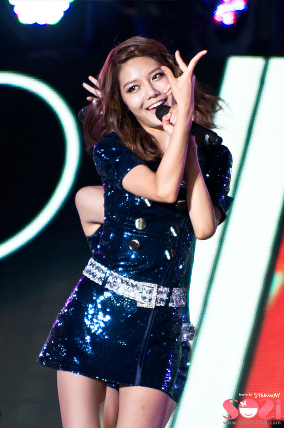 SNSD Sooyoung Incheon Korean Wave Music Festival 2011