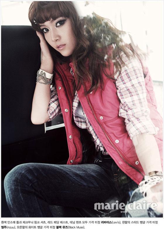 SNSD Jessica Marie Claire Korea