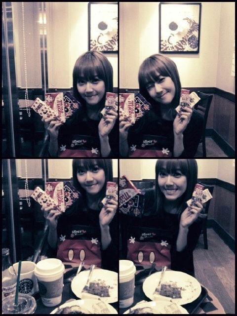 SNSD Jessica candies