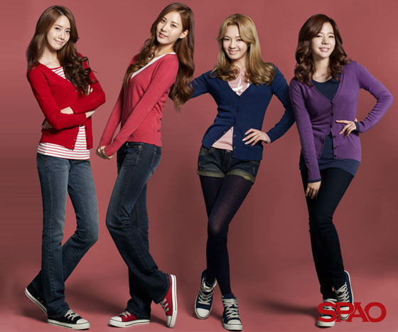 SNSD SPAO Fall 2011 collection