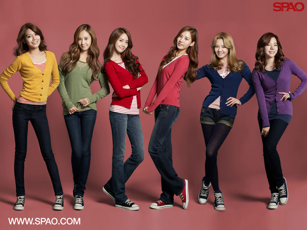 SNSD SPAO Fall 2011 wallpaper