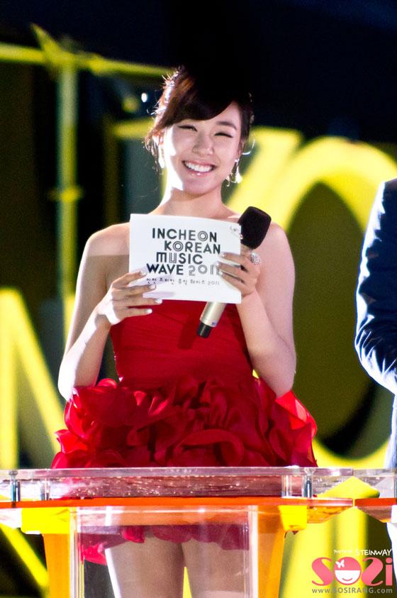 MC Tiffany @ Incheon Korean Wave 2011