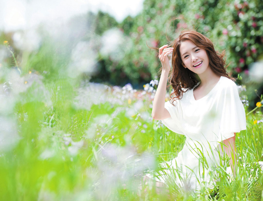 SNSD Yoona Jeju Innisfree photo