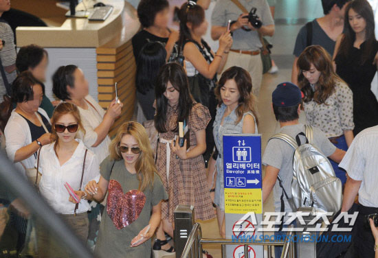 SNSD Tiffany and Sunny going to Japan