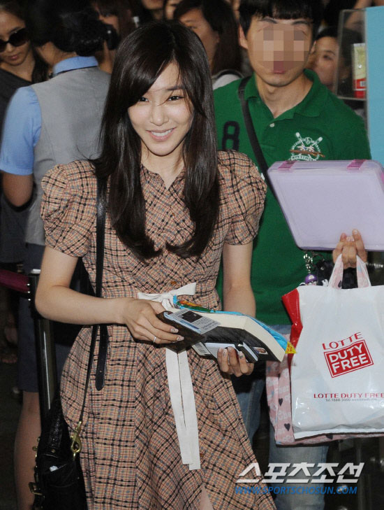 SNSD Tiffany going to Japan