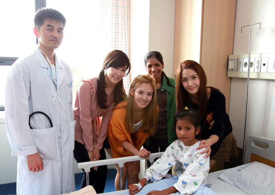 SNSD at KBS blood donation drive