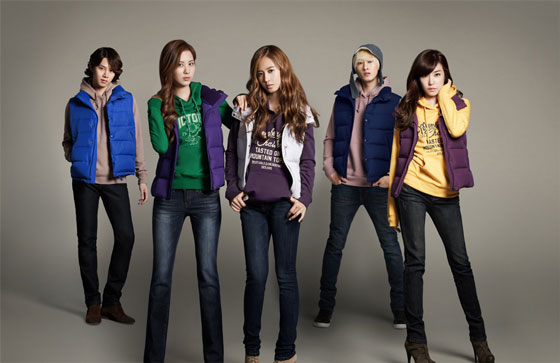 SNSD and Super Junior SPAO 2011 FW
