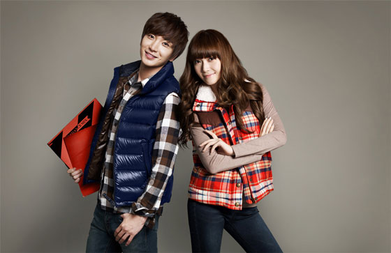 SNSD Jessica and Leeteuk SPAO 2011 FW