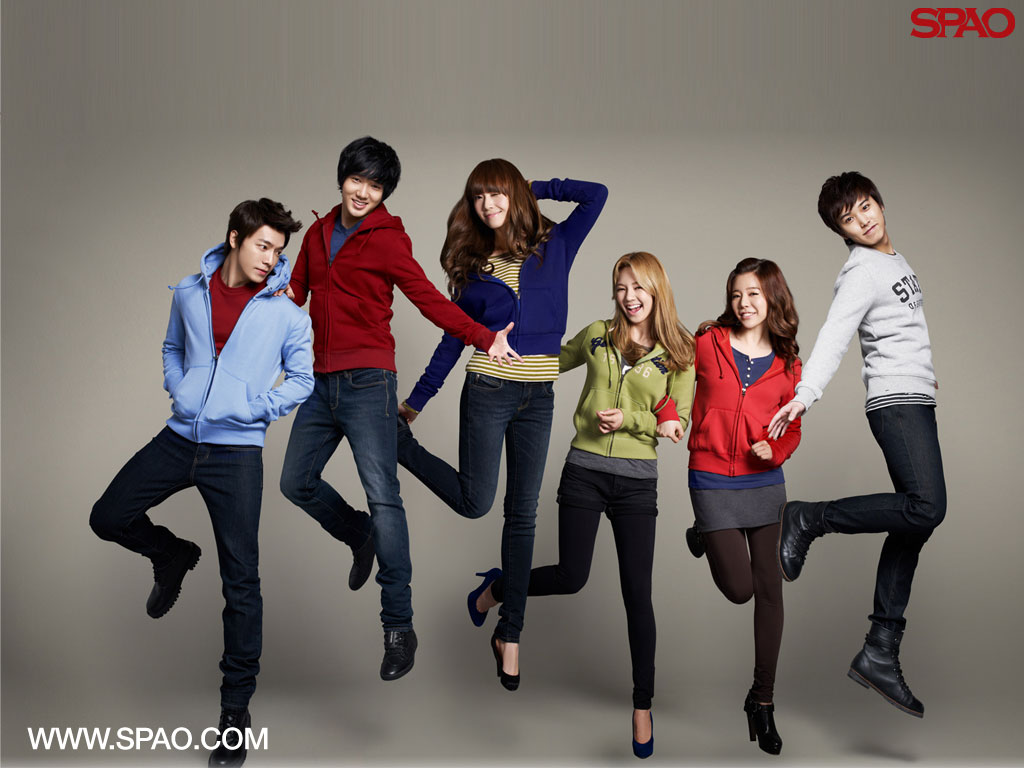 Girls Generation Super Junior SPAO wallpaper